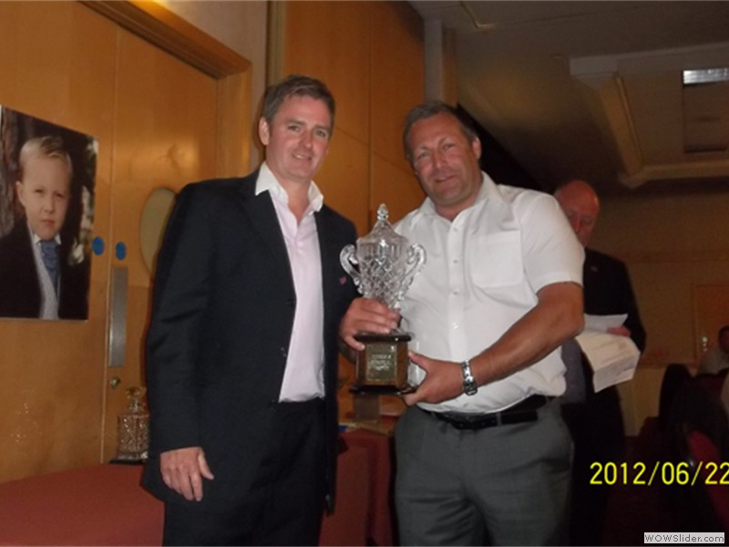 Winner of Kierans Memorial Trophy